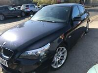 2007 BMW 5 SERIES 2.0 Diesel 520d M Sport Low Mileage FSH 12 months MOT Mint !MUST view! 525d 530d