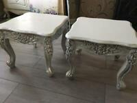 Two coffee tables( can sell separately )