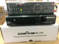 Zgemma HT5.2TC Triple Tuner Box Active