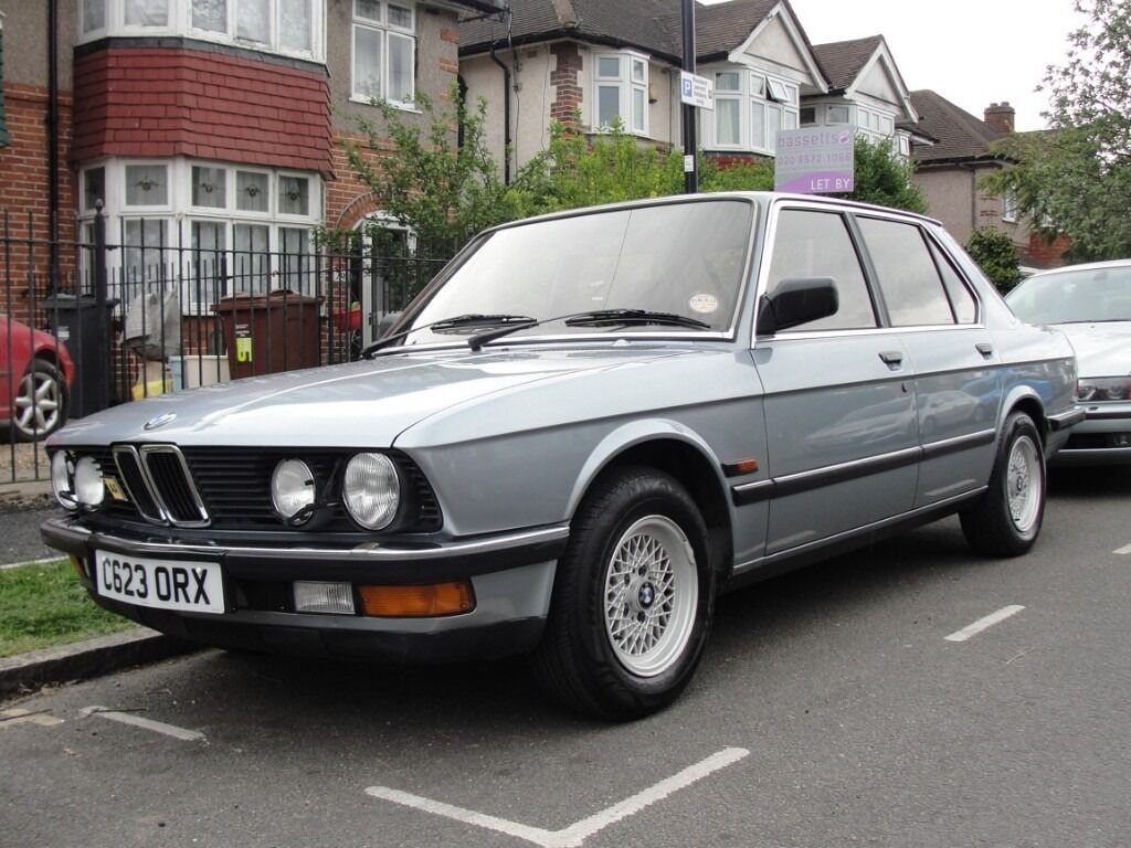 bmw e28 520i auto low mileage not e30 in hounslow london gumtree. Black Bedroom Furniture Sets. Home Design Ideas
