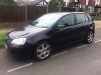 VW GOLF MARK 5 BLACK 2.0 SDI DIESEL MANUAL new MOT