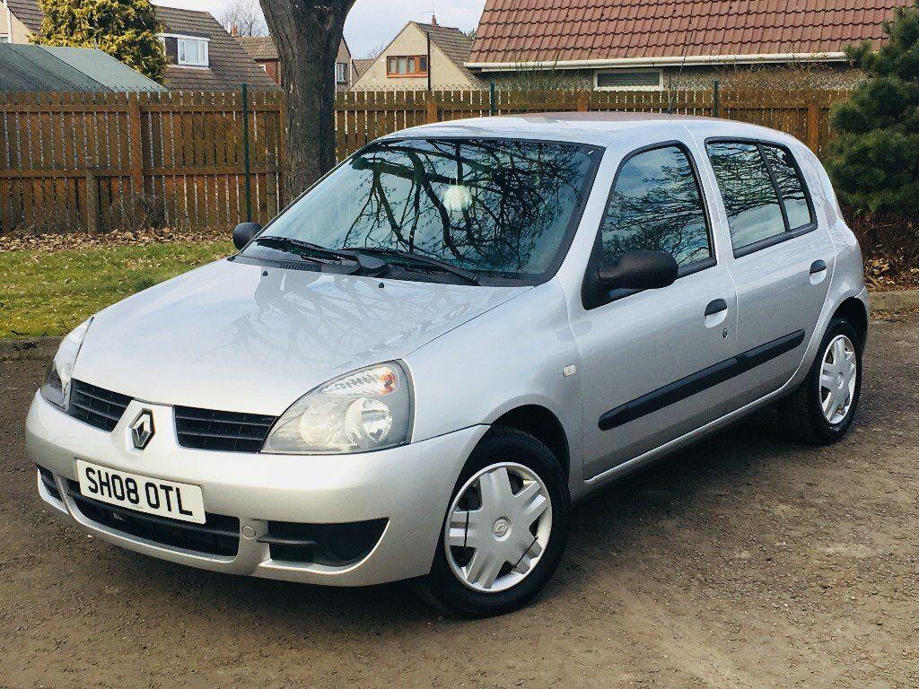 2008 Renault Clio 1.2 Campus 5 door * LOW MILEAGE * YEAR MOT * BARGAIN Family car perfect first car