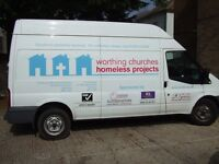 Volunteer Van Driver, join our team of drivers carrying out deliveries and collections for WCHP