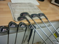 Ben Ross Pro forged golf clubs. Gunmetal finish.Ping putter