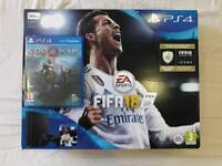 PLAYSTATION 4 500GB FIFA 18 BUNDLE PACK WITH GOD OF WAR