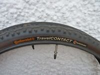 """Continental Travel Contact 26"""" tyres"""