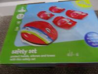 New ELC safety set helmet knee pads Age 3+ Collection Stourbridge DY8 4
