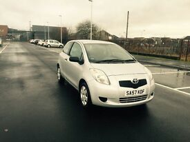 toyota yaris 1.0 silver only 44000 milles