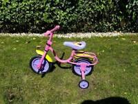 Kids Girls Pink Bike