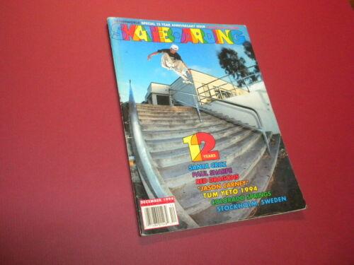 TRANSWORLD SKATEBOARDING magazine 1994 December SKATEBOARD