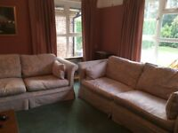 FREE! 3 Seater+ 2 Seater MULTI YORK SOFAS with washable covers - pick up only!