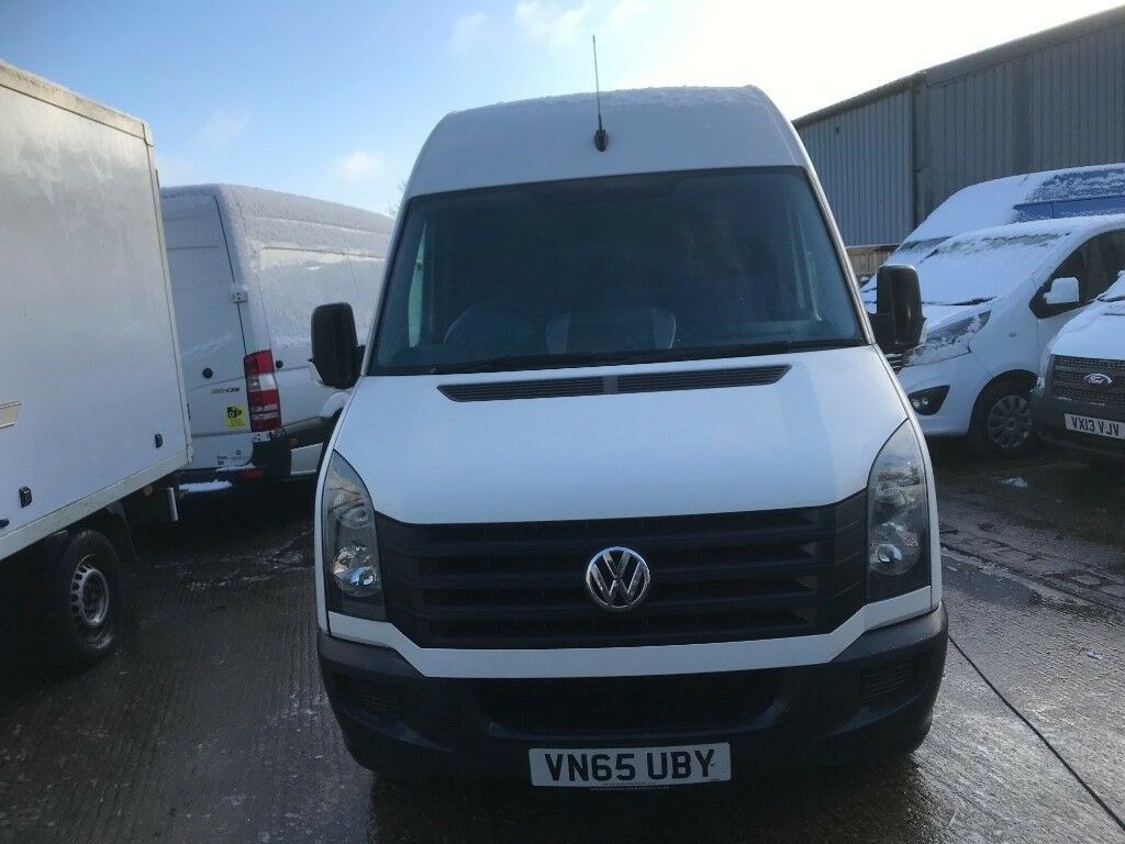 b0da294cf3 2015 65 vw crafter.LWB HIGH ROOF.1 OWNER.FULL SERVICE PRINT.CLEAN VAN  .READY FOR WORK.SPARE KEY
