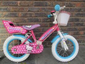 Hello Kitty Girls Bike