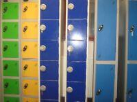 LINK 6 DOOR / 6 COMPARTMENT PERSONAL LOCKERS - 1 KEY MISSING