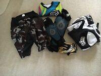 Childs mountain bike clothing