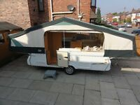 Wanted Pennine/Conway Folding Camper Trailer Tent
