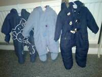 Excellent mixed size snow suits