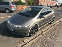 2006 06reg Honda Civic 2.2 Cdti EX grey 5 Door good runner