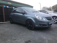 Vauxhall corsa 1.4 design with half leathers - top spec - drives well - mot - px welcome