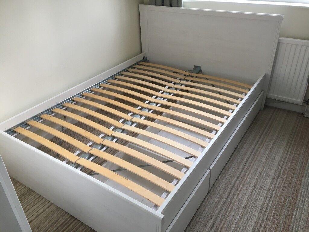 IKEA white bedroom furniture 6 piece set BRUSALI range  in Aughton,  Lancashire  Gumtree