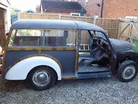Morris Minor Traveller 1961