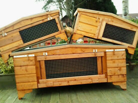"rabbit hutch 48""wide from £35.00 all sizes stocked 7days up from hampden park 07889465089 tommy"