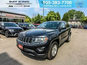 2014 Jeep Grand Cherokee LAREDO, 4X4, 3.6L ENGINE, 17 WHEELS, BL