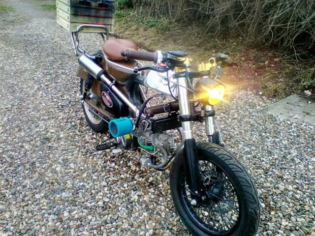 Honda c90 custom - p/x swap for enduro or motocross bike | in Norwich,  Norfolk | Gumtree