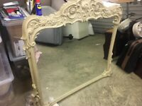 Mirror - over mantle