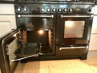 Rangemaster 110 110 cm Dual Fuel Kitchen Range.