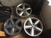 Audi 5x112 Alloy wheels