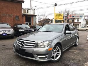 2014 Mercedes-Benz C-Class 300 4MATIC, Leather, Sunroof, HtdSeat