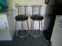 Two Bar /kitchen stools