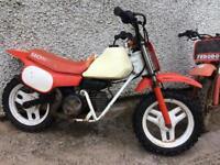 Honda 50cc qr classic project barn find