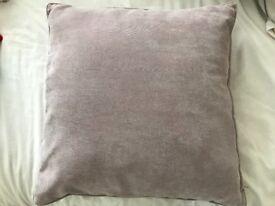 Next cushions - large x 3 - mauve
