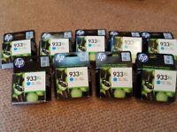 HP933XL Printer Cartridge Inks Cyan - 9 Available