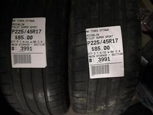 225/45/17 Michelin Pilot Super Sport (Performance Tire)