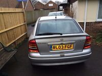 VAUXHALL ASTRA CLUB 1.6 FOR SALE SPARES OR REPAIR