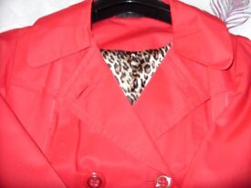Womens Marks and Spensers Coat size 14