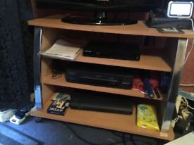Two TV/multimedia stands