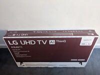 LG 43 inch 4k UHD TV - New in box