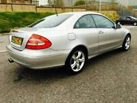 Mercedes Benz Clk270 Avantgarde Heated Leather Automatic Sat Nav 210 Bhp Swap P.x welcome