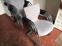 orangebox quality visitor/reception chairs
