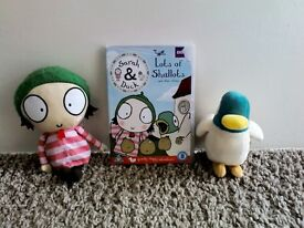Sarah and Duck DVD and Soft Toys