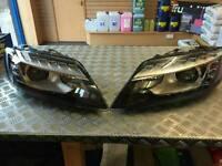 audi q7 facelift headlights