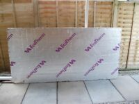 8 X 4 X 100MM ECOTHERM INSULATION BOARD S/HAND