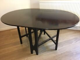 Lovely dropdown wooden table