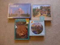 4 New Jigsaw Puzzles