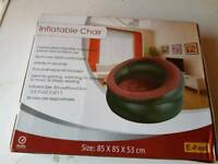 Inflatable chair brand new