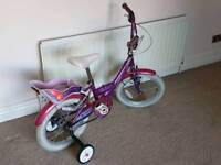 Girls Bike for 4-6 Year Old